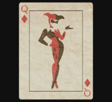 "Queen of Diamonds ""Harley Quinn"" by triforce15"