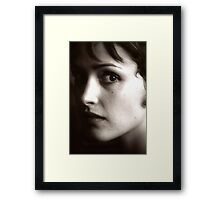 Rose Byrne - beautiful waif - 2000 Framed Print