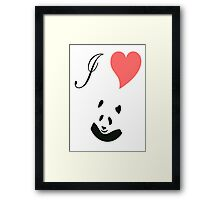 love with care Framed Print