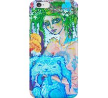 Original Acrylic Painting (Lapien) iPhone Case/Skin