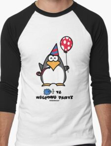 Typhoon T8 Welcome Party - Hong Kong Men's Baseball ¾ T-Shirt