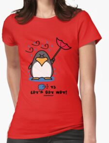 Typhoon T3 Let's get wet - Hong Kong Womens Fitted T-Shirt