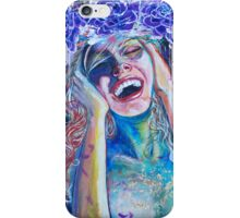 Original Acrylic Painting (Seventh Heaven) iPhone Case/Skin