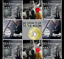 the moon walk by DMEIERS