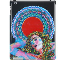 Original Acrylic Painting (A Dance For Sahasrara) iPad Case/Skin