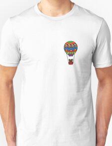 Teddy in a Hot Air Balloon Unisex T-Shirt