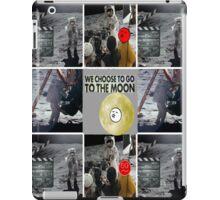the moon walk iPad Case/Skin