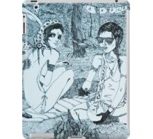 Original Ink Drawing (Escape) iPad Case/Skin