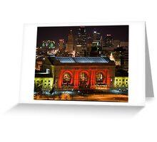 Christmas In Kansas City Greeting Card