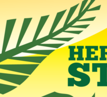 HERE TO STAY kiwi New Zealander in Australia map Sticker