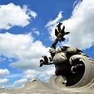 The Merchant Marine Memorial - Arlington, Virginia  by Matsumoto