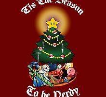 Geekin' Around the Christmas Tree by weisbatman
