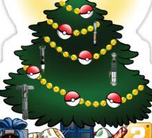 Geekin' Around the Christmas Tree Sticker