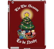 Geekin' Around the Christmas Tree iPad Case/Skin
