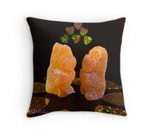 Golden Bear - Love  Throw Pillow