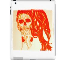 Silent Scream iPad Case/Skin