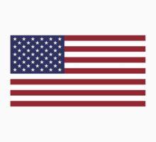 US Flag Kids Tee