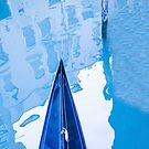 Gondola in blue by Geraldine Lefoe