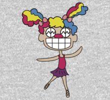 Kreepy Klown: Ballet Dancer One Piece - Long Sleeve