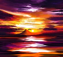 Sunset by Muchammad Wahono Sapto Adi.S