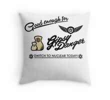Good enough for Gypsy Danger! Throw Pillow
