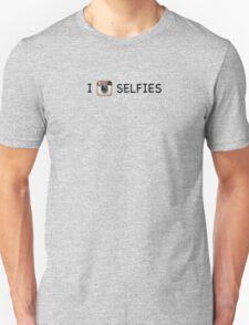 I Instagram Selfies (chalkboard) Unisex T-Shirt