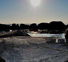 Sun Kissed Tide Pool by Jalil al-Hamza
