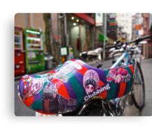 Dutch art shoe exploring Tokyo Canvas Print