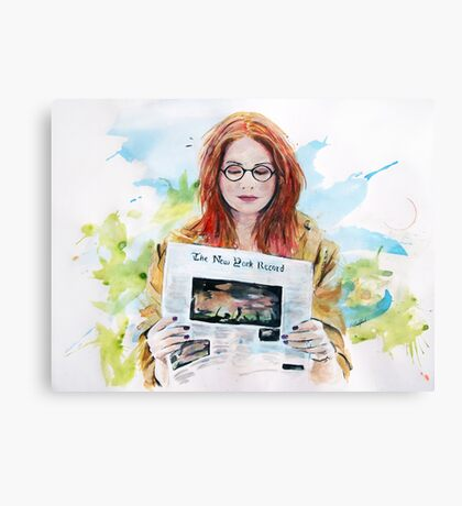 Doctor Who: Pond in the park Canvas Print