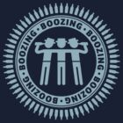 Boozing, Boozing, Boozing (Bar Tour / Light Blue) by MrFaulbaum