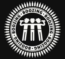 Boozing, Boozing, Boozing (Bar Tour / White) by MrFaulbaum