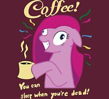 Coffee! Pinkie Pie Womens Fitted T-Shirt