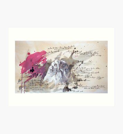 A Study in Pink - Sherlock Art Print
