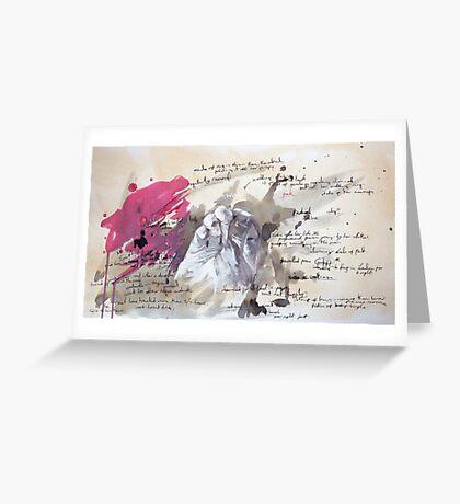 A Study in Pink - Sherlock Greeting Card