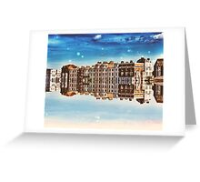 Seaside Reflection Greeting Card