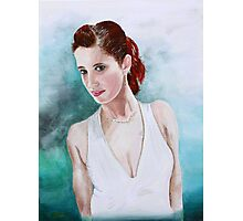 The Lady in White Photographic Print