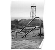 Redhead Beach Shark Tower Poster