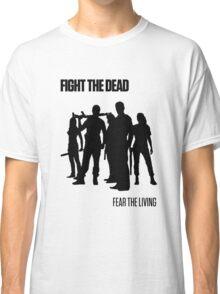 Fight the Dead T-Shirt [Black Stencil] Classic T-Shirt