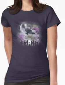 Legend of Serenity Womens Fitted T-Shirt