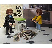 Money laundering Photographic Print