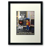 Hot Chocolate Framed Print