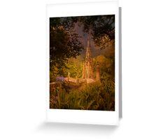 Quinta da Regaleira Chapel. Sintra Greeting Card