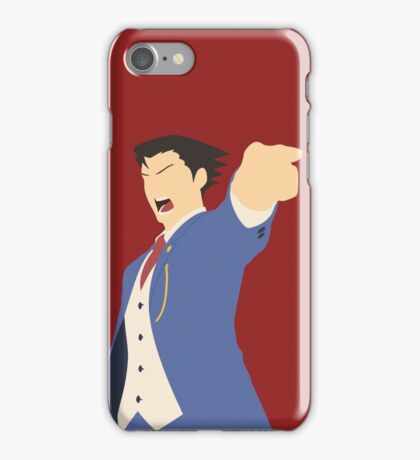 Ace Attorney - Pheonix Wright iPhone Case/Skin