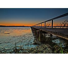 Long Jetty Delight Photographic Print