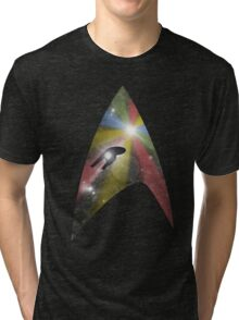 Where no Man has gone before Tri-blend T-Shirt