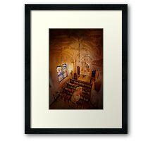 Chapel. Quinta da Regaleira. Capela Framed Print