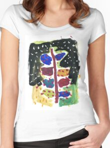 Christmas tree for all Women's Fitted Scoop T-Shirt