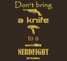 Don't Bring a Knife to a Nerdfight by evlbzltyr