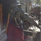 Biomechanical plague doctor mask by Jesse Lindsay 2013 by jesse lindsay