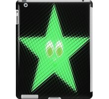 Green Star iPad Case/Skin